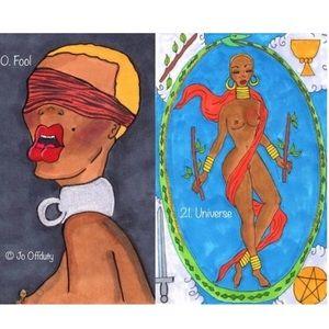 🧿Fools Journey & Sexual👄Major Arcana Tarot Set